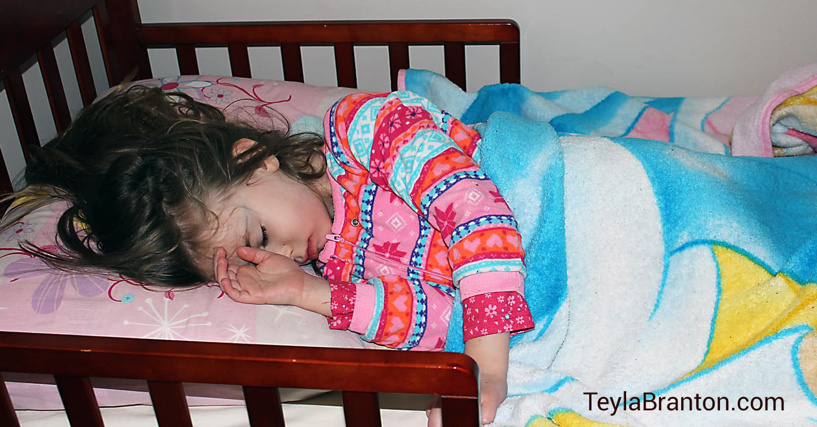 How I got my child to stay in her own bed
